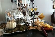 Halloween Inspiration / Ghoulish treats and Devilish Decor to make this a holiday you'll never forget!