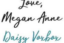 Love, Megan Anne | Daisy VoxBox / DaisyVoxBox was received for free, for testing purposes. All opinions are my own.  Links to YouTube, Instagram, twitter & blog.
