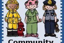Community Helpers Theme / by Diane Fangmeyer