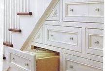Clever Storage / Clever Storage ideas for the home kitchen bathroom and beyond