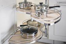 LeMans Corner / L shaped kitchen storage solution blind corner organizer