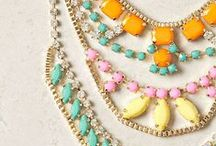 Accesorize / Jewelry, scarfs, bags, etc. / by Erica Goldstein