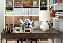 Get Organized / My collection of highly useable ideas for better organizing my home & with a little more style!