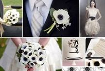 Noir et Blanc Mariage / Black and white wedding / by Engle Heart