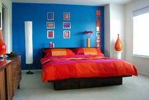 Pop art master bedroom / by Kelly Roy