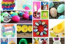 Easter/Spring / Easter /spring decorating, basket ideas for the Easter bunny.