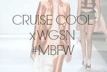 CRUISE COOL x WGSN #MBFW / Glamour of cruise with traditional maritime influences. Traditional sportswear.  / by Fashion Week