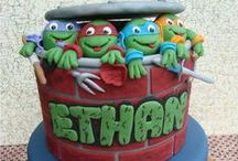 Ethan's 4th Birthday / Teenage Mutant Ninja Turtles / by Lacey Goslin-Braman