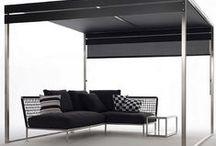 By Coro / Coro est une marque italienne de mobilier de jardin design combinant simplicité et esthétisme.