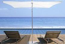 By Umbrosa / La marque belge Umbrosa offre un large choix de parasols & voiles d'ombrages design et contemporains, afin de profiter d'une ombre rafraîchissante lors des longues journées d'été.