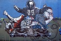 Hip Hop Culture / My Love for REAL HIP HOP, Music, Dj'ing, MC'ing, graff., B-boy, fashion, CULTURE. / by James Sugiyama