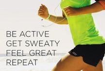 Fitness / work hard and enjoy