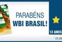 WBI Brasil - 13 anos / Retrospectiva dos 13 anos da agência de comunicação digital.