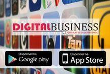 Revista Digital Business / As capas de todas as edições da revista Digital Business, produzidas pela WBI Brasil.