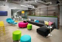 | OFFICES | Colorful | / Kleurrijke kantoorinrichitingen