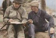 1939-1945 en livres documentaires / La Seconde Guerre mondiale sous tous ses aspects : l'Occupation, les opérations militaires du Jour J et de la bataille de Normandie, les soldats, les résistants, les civils, les collaborateurs...