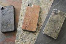 Natural Stone Collection / Cover in pietra naturale e Policarbonato 100% • Per iPhone 4/4s - 5/5s - 5c• Galaxy S4