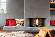 Fireplaces Inspiration Ideas / Welcome to Home Inspirations Ideas Fireplaces board, designed for those that are looking for bold, elegant and sophisticated Pinterest Trends for the Home.