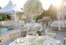Wedding Centerpieces & Bouquets / Floral and candle arrangements / by Evita Thomas