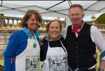 Bowood House Garden Festival 2015 / This Summer saw the first garden festival at Bowood House organised by Herb Society President Toby Buckland.