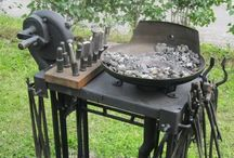 Smithing and Metal / All things forged, hammered, bent, molten, shaped, polished, sharpened... / by Wesley Miller
