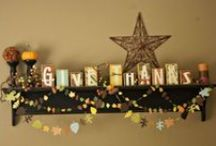 Thanksgiving Decor Ideas / Be inspired by these fresh and fun ideas that will spruce up your home decor and your Thanksgiving decorations.