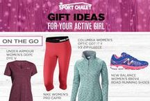 Holiday 2015 Gifts For Women / Shop our collection of holiday gift ideas for girls and the active women on your list. Choose from stylish winter boots, functional women's activewear, cute snow accessories, and more.  / by Sport Chalet