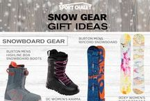 Holiday 2015 Snow Ski Gifts / Shop our collection of gifts for the skier or snowboarder in your life.  Browse the latest snowboarding gear, stylish ski clothing, snow gloves, and more!  / by Sport Chalet
