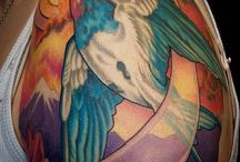 Tattoos by Shane Faulkner / Tattoos by Shane Faulkner — founder of THE TELL TALE HEART Tattoo & Gallery.