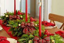 Tartan Christmas decoration ideas