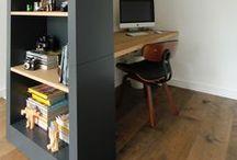 kantoor en woon ruimte
