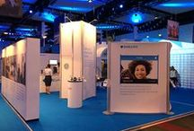 Finance Displays / Some of the largest banks and financial institutions have turned to Nomadic Display for brand building, results-driven exhibits and displays. Whether you are a small local credit union or a multi-national conglomerate, Nomadic Display has trade show solutions that will exceed your expectations