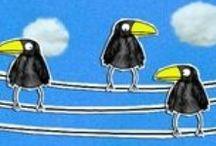 dieren: vogels / by Marjan van Sluijs-Kruse