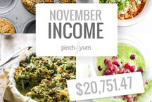 Income Reports - Pinch of Yum / by Pinch of Yum