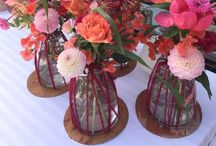Floral Table settings / tafeldecoratie / Table setting for weddings and events, ideas and tips