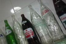 Refrigerante / Garrafas de refrigerantes - Publicidades - Embalagens