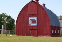 Barn quilts / Works of art!  Pin all you want! / by Julie Crowell