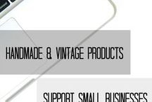 Handmade & Vintage - Support Small Businesses / ❇ To Promote HANDMADE & VINTAGE PRODUCTS from SMALL BUSINESSES & for people who love to shop ❇ ONLY shop & product promotion ❇ ‼️NO Spam, Nudity, Blog, DIY, Homemade & Organization Ideas, Home Remedies, Food Recipes‼️Any offender pin & the person will be remove from the group❇ Invite: follow this board  & send a message somewhere❇NEW-Collaborators can add people to this board, but please add only Etsy members, close friends or people who you can make sure they could be follow our policies.❓Any question: here or www.adesignfor.etsy.com Thanks & Welcome