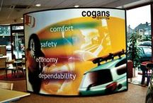 Nomadic Display Showrooms / Showrooms are another selling environment in which Nomadic displays may be found. Our portable and pop-up displays offer a compelling combination of bold graphic impact and flexibility so you get a greater return on your display investment. The examples below highlight a few of the our showroom installations around the world.