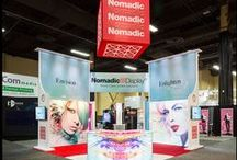Nomadic Exhibitor Shows / Trade Show Displays And Ideas From Nomadic Display