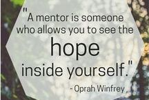 Mentoring & Volunteering / Quotes, articles and information