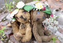Teddy my life~ AleVtinaMaLysh / My handmade toys