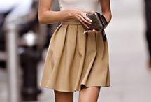 Skater & circle skirt