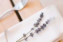 ~Lavender, Wood and Burlap~