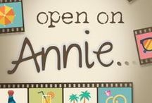 Open On Annie (Book) / Some Open on Annie inspiration
