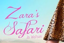 Zara's Safari (Book) / The images from the book, soon to be published, Zara's Safari.