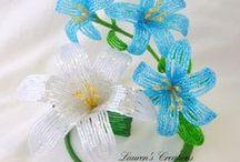 korálkové kytičky