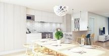 Scandinavian kitchens / Kitchens that have been designed in a Scandinavian style