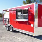 Mobile Brick Ovens & Trailers / Looking to start your own mobile food business? Check out our collection of oven trailers! All of our trailers are made in the US, and assembled in Texas.