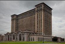 Detroit Michigan Train Station